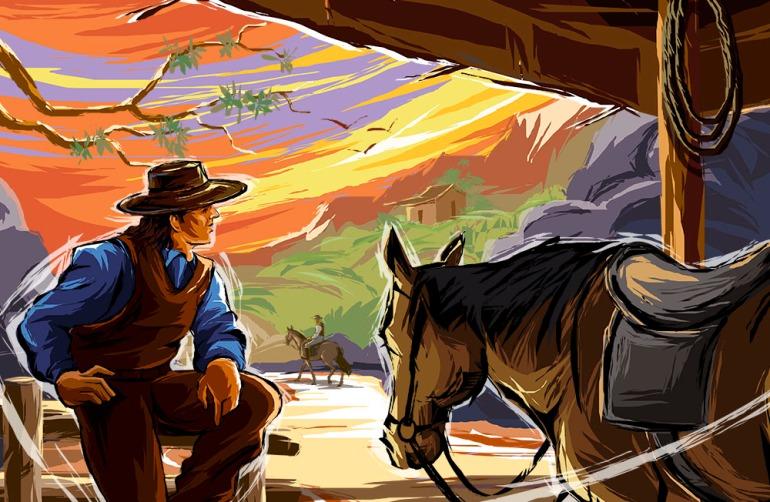 Cowboy - No Public Domain.